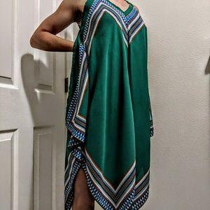 Boho wavy spaghetti strap dress
